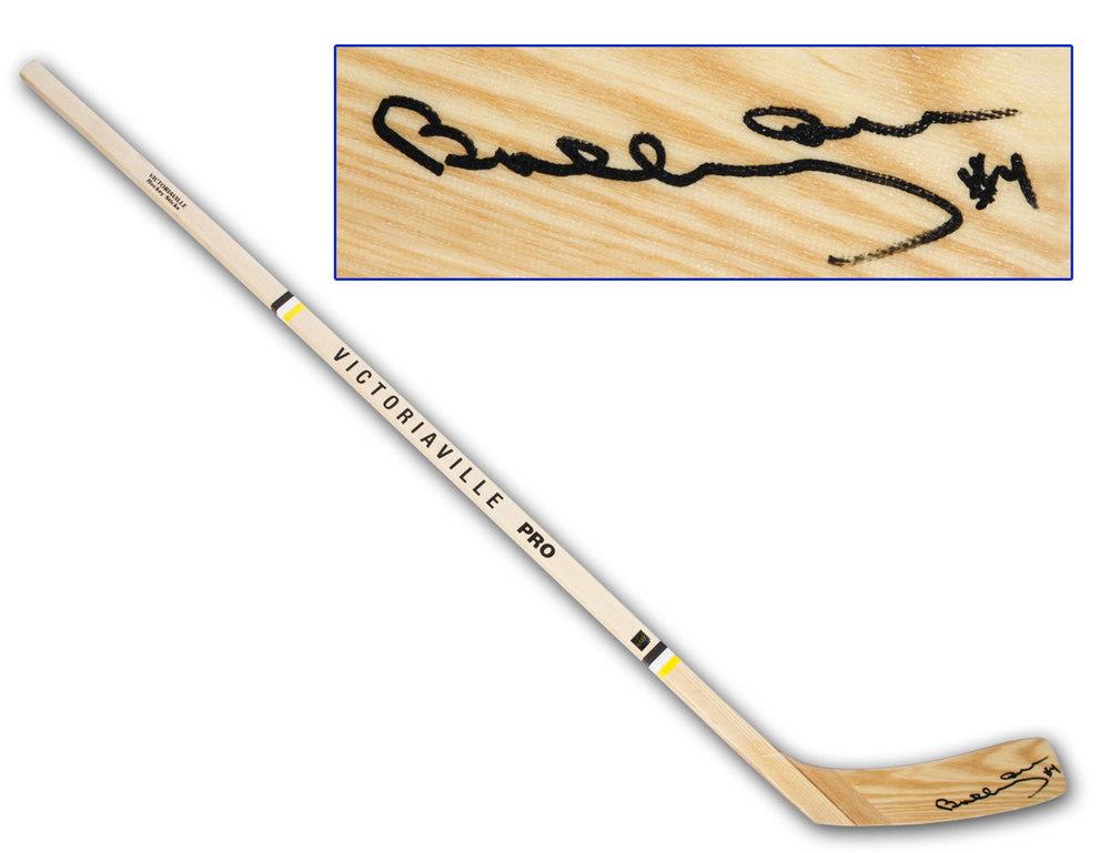 Bobby Orr Boston Bruins Autographed Victoriaville Hockey Stick: GNR COA