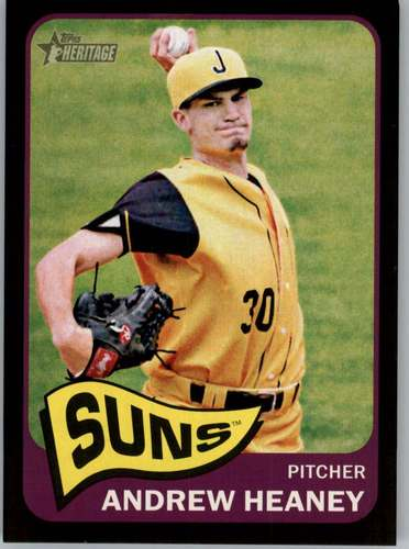 Photo of 2014 Topps Heritage Minors Black #140 Andrew Heaney