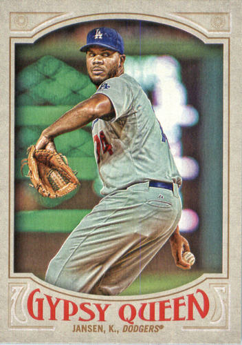 Photo of 2016 Topps Gypsy Queen #173 Kenley Jansen -- Dodgers post-season