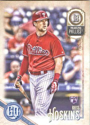 Photo of 2018 Topps Gypsy Queen #199 Rhys Hoskins RC