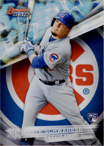 Photo of 2016 Bowman's Best Refractors #64 Kyle Schwarber