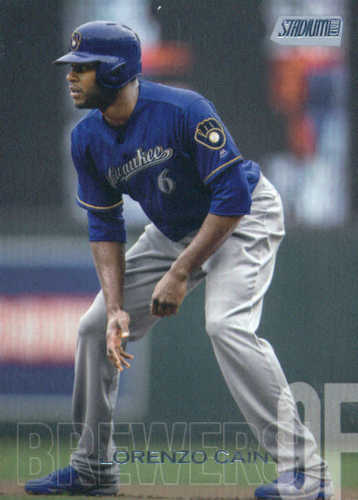 Photo of 2018 Stadium Club #225 Lorenzo Cain