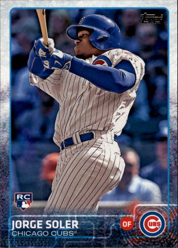 Photo of 2015 Topps #108A Jorge Soler Rookie Card