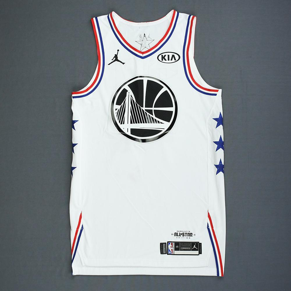 new styles 37b77 0b42f Stephen Curry - 2019 NBA All-Star Game - Team Giannis - Game ...