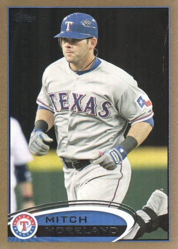 Photo of 2012 Topps Gold #299 Mitch Moreland