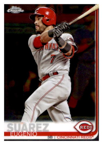 Photo of 2019 Topps Chrome #80 Eugenio Suarez