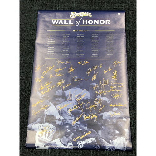 Photo of BCF End of Year Auction: Brewers Wall of Honor Package