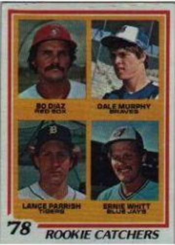 Photo of 1978 Topps #708 Rookie Catchers/Bo Diaz RC/Dale Murphy/Lance Parrish RC/Ernie Whitt RC