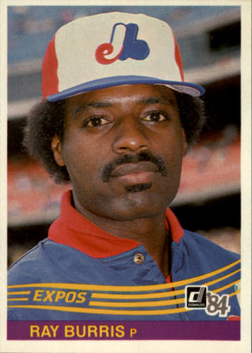 Photo of 1984 Donruss #331 Ray Burris
