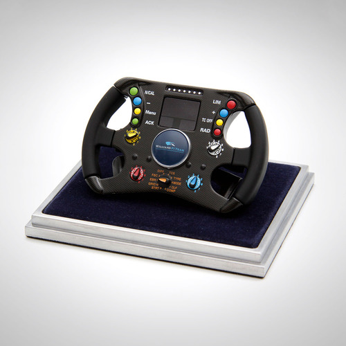 Photo of Williams FW28 Steering Wheel - 1:4 Scale Amalgam Model