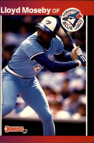Photo of 1989 Donruss #231 Lloyd Moseby
