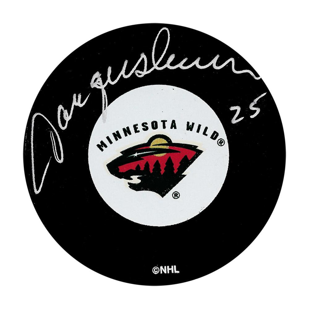 Jacques Lemaire Autographed Minnesota Wild Puck