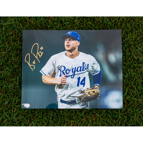 Photo of Royals Respond Charity Auction: Brett Phillips Autographed 8x10 Photo