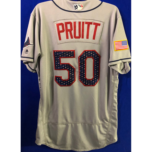 Stars and Stripes Team Issued Autographed Jersey: Austin Pruitt
