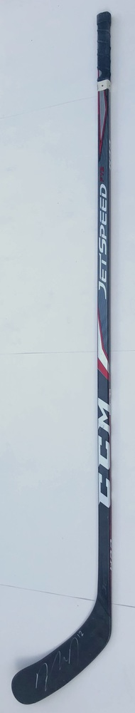 #12 Dylan DeMelo Game Used Stick - Autographed - Winnipeg Jets