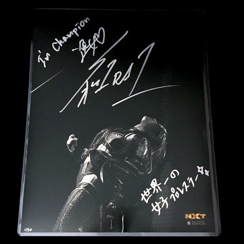 Io Shirai SIGNED Black & White 11x14 Photo (#1 of 50)