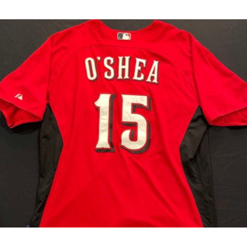 Photo of OSHEA -- Authentic Reds Jersey -- $1 Jersey Auction -- $5 Shipping -- Size 46 (Not MLB Authenticated)