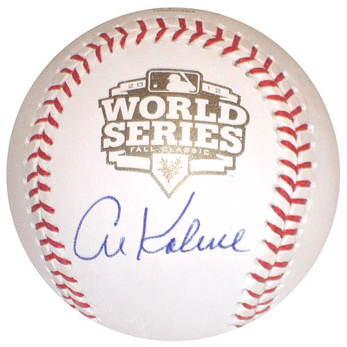 Detroit Tigers Al Kaline Autographed World Series Baseball