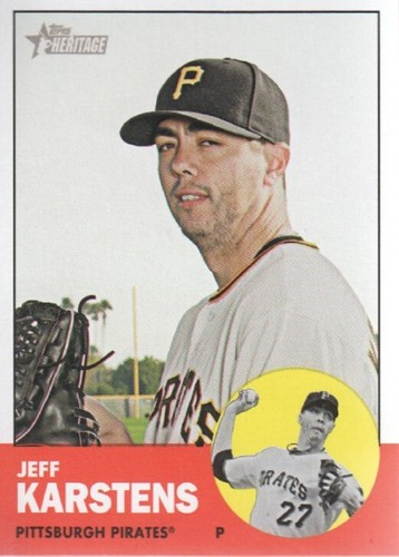 Photo of 2012 Topps Heritage #101 Jeff Karstens