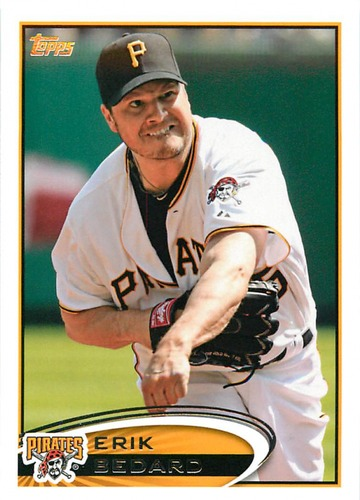 Photo of 2012 Topps Update #US142 Erik Bedard
