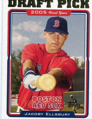 Photo of 2005 Topps Update #317 Jacoby Ellsbury Rookie Card
