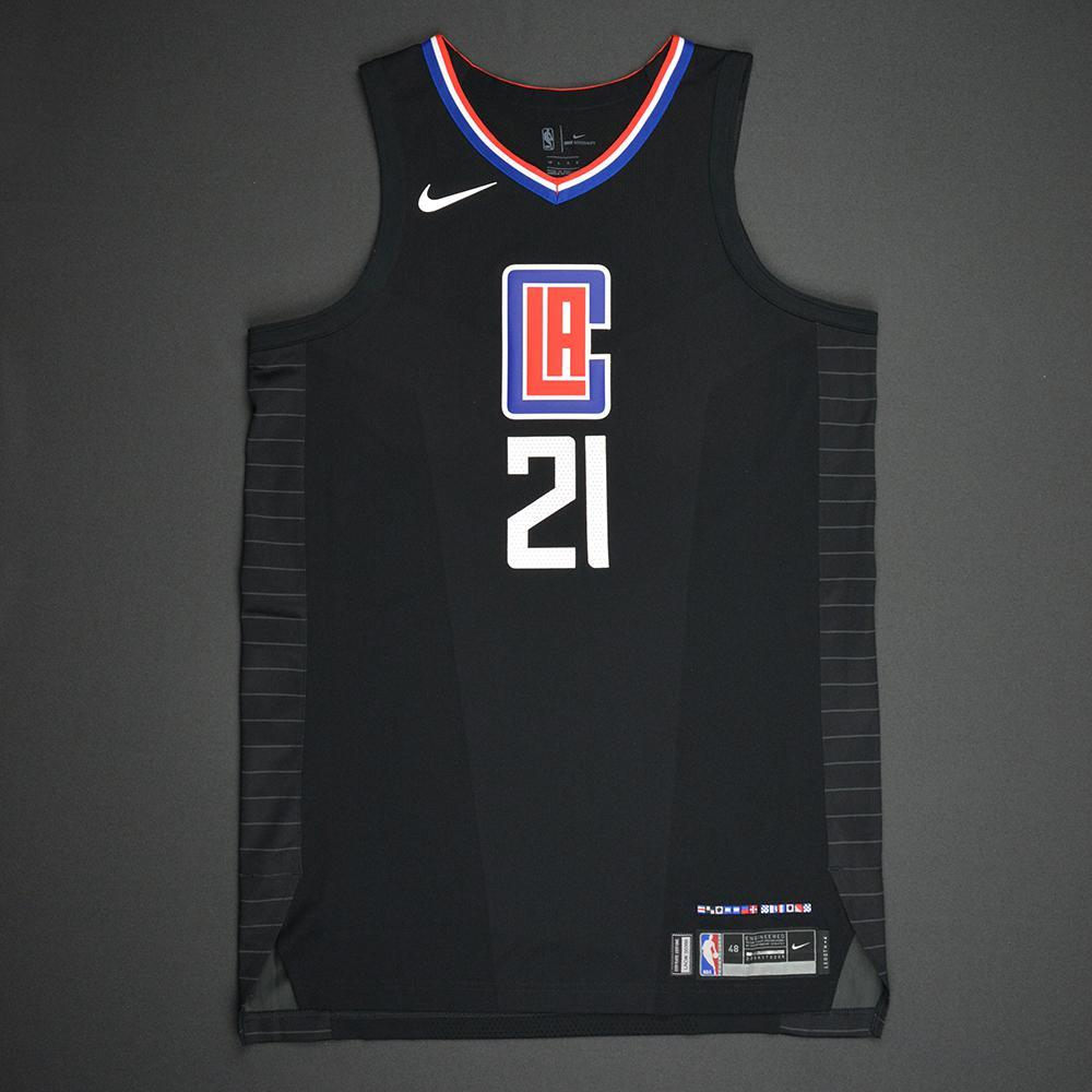 Patrick Beverley - Los Angeles Clippers - Statement Game-Issued Jersey -  2017-18 26250b51e