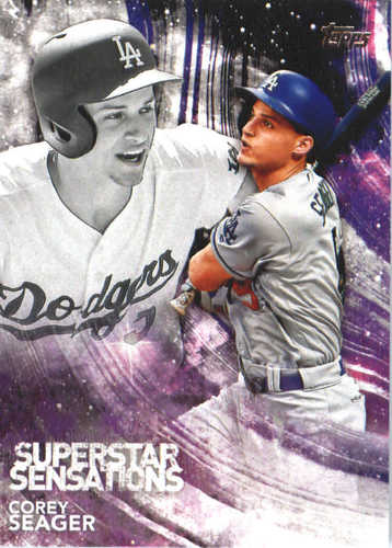 Photo of 2018 Topps Superstar Sensations #SSS6 Corey Seager