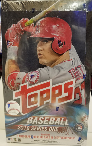 Photo of 2018 Topps Series 1 Baseball