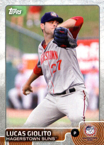 Photo of 2015 Topps Pro Debut #75 Lucas Giolito