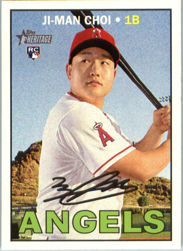 Photo of 2016 Topps Heritage #599 Ji-Man Choi RC