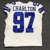 Crucial Catch - Cowboys Taco Charlton game worn Cowboys jersey (October 8, 2017) Size 42