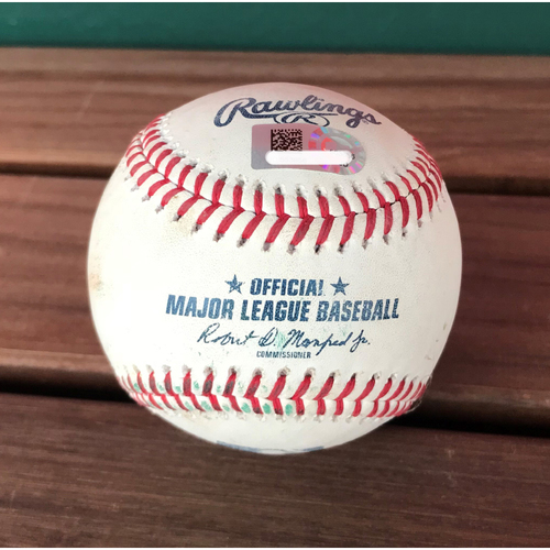 Photo of Player-Collected Baseball - Ryan Zimmerman Homerun - 8/21/2018
