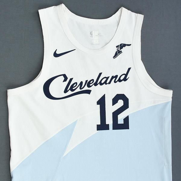 separation shoes dbda2 25b44 David Nwaba - Cleveland Cavaliers - Game-Worn Earned City ...
