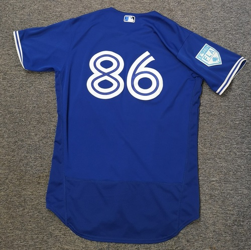 Photo of Authenticated Team Issued 2019 Spring Training Jersey - #86 Nash Knight. Size 46