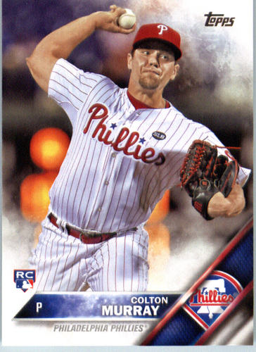 Photo of 2016 Topps #488 Colton Murray RC