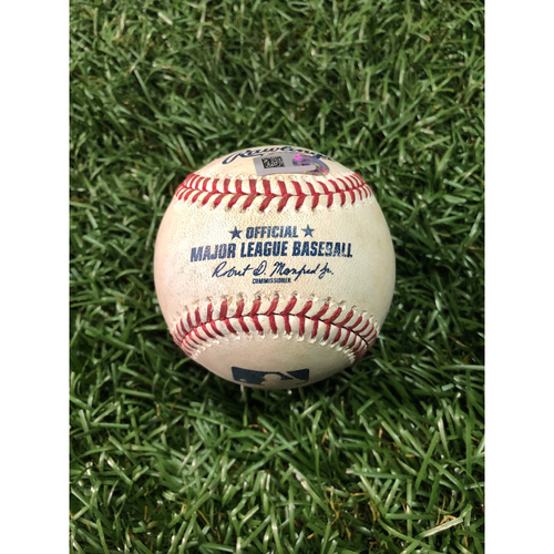 Photo of Player Collected Baseball: Avisail Garcia home run off C.C. Sabathia - May 11, 2019 v NYY