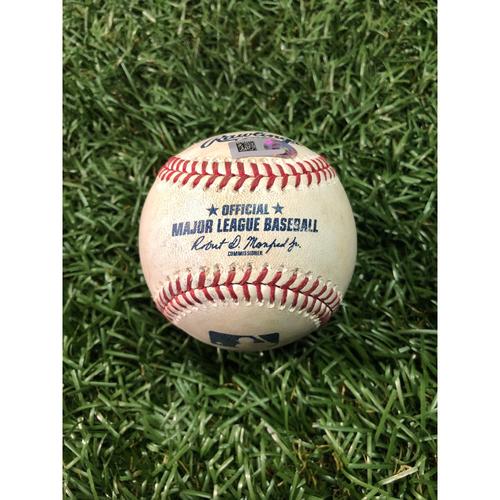 Player Collected Baseball: Avisail Garcia home run off C.C. Sabathia - May 11, 2019 v NYY