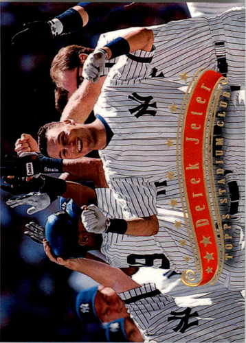Photo of 1997 Stadium Club #55 Derek Jeter