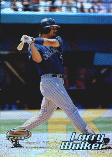 Photo of 2002 Bowman's Best #33 Larry Walker