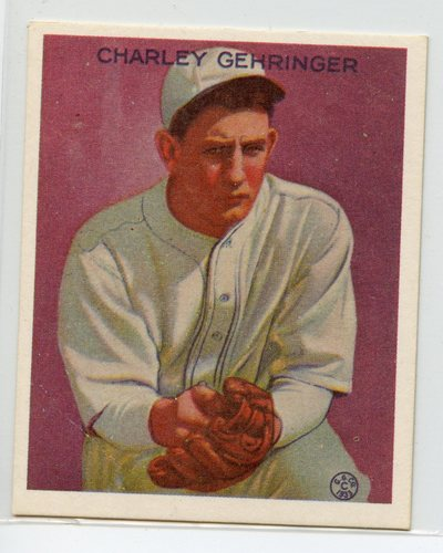 Photo of 1933 Goudey '86 Reprints #222 Charley Gehringer