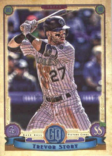 Photo of 2019 Topps Gypsy Queen #153 Trevor Story