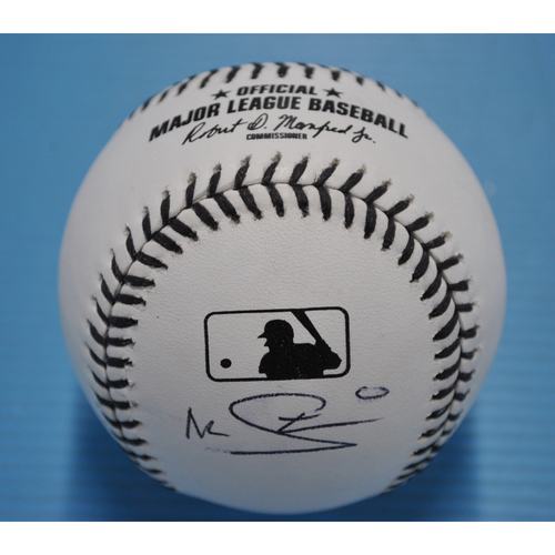 MLB Opening Day Auction Supporting The Players Alliance - Black Lives Matter Baseball signed by Marcus Stroman