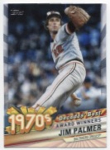 Photo of 2020 Topps Decades' Best Series 2 #DB39 Jim Palmer