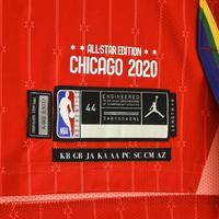 KembaWalker - 2020 NBA All-Star - Team Giannis - Autographed Jersey