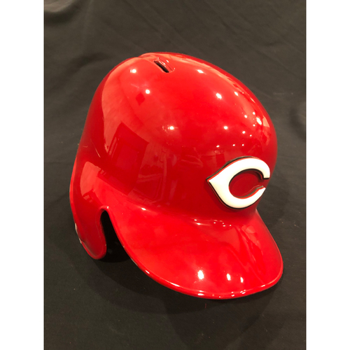 "Photo of Reds Commemorative ""No. 20"" Retired Number Helmet -- (Not MLB Authenticated, COA Included) -- Helmet Scheduled to Arrive Prior to Dec 24"
