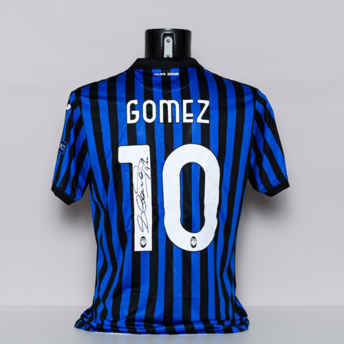Photo of 20/21 Atalanta BC Jersey - signed by Alejandro Dano Gomez