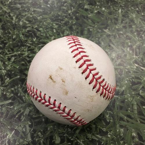 Photo of Game-Used Baseball CHC@MIL 09/11/20 - Jon Lester - Avisail Garcia: Single