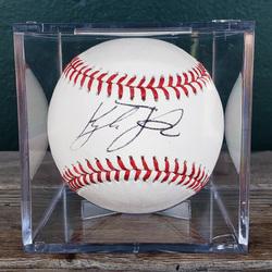 Photo of Kyle Tucker Autographed Baseball