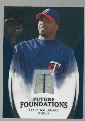 Photo of 2009 Upper Deck Icons Future Foundations Jerseys #FL Francisco Liriano