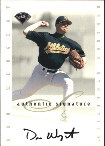 Photo of 1996 Leaf Signature Extended Autographs #211 Don Wengert